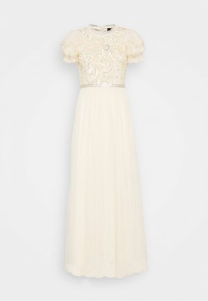 SHIRLEY RIBBON BODICE DRESS - Gallakjole - champagne