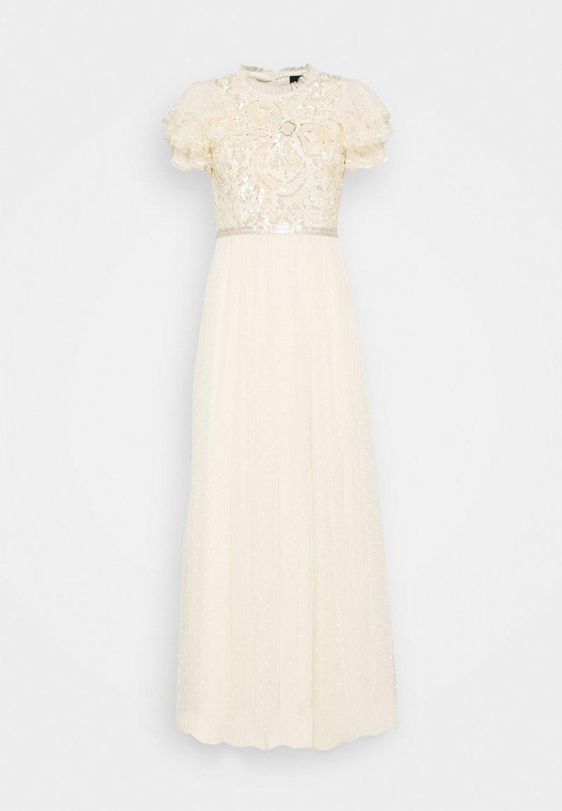 Needle & Thread - SHIRLEY RIBBON BODICE DRESS - Společenské šaty - champagne