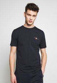 Paul Smith - Print T-shirt - dark blue - 0