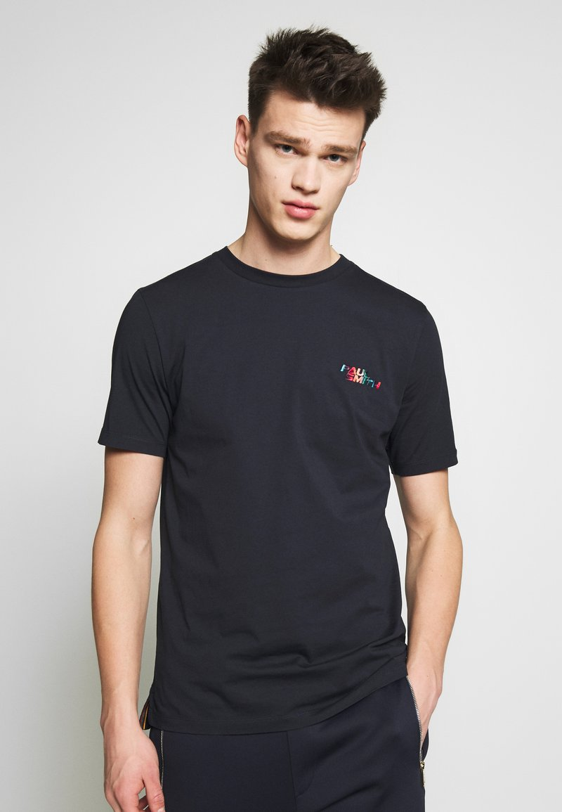 Paul Smith - T-shirt con stampa - dark blue