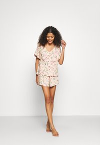 Marks & Spencer London - FLORAL SHORTIE  - Pyjamas - peach mix - 1