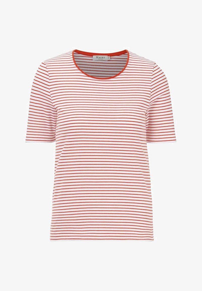 MAERZ Muenchen - Print T-shirt - poppy orange
