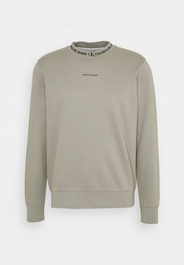 LOGO CREW NECK UNISEX - Sweatshirt - elephant skin