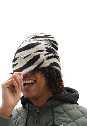 WM BREAKIN  - Beanie - zebra