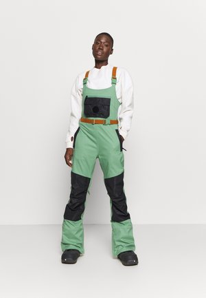 LAROSA BIB - Snow pants - spruce/trublack