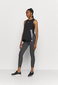 adidas Performance - MATERNITY - Tights - grey six/black - 1