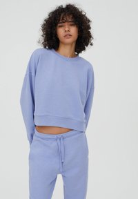 PULL&BEAR - Tracksuit - mottled purple - 4