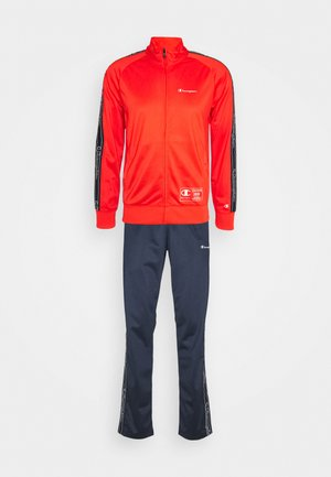 LEGACY TAPE TRACKSUIT SET - Tracksuit - red/dark blue