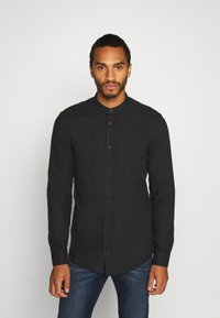 Only & Sons - ONSBRENT DOBBY MANDARINE - Shirt - dark navy - 0