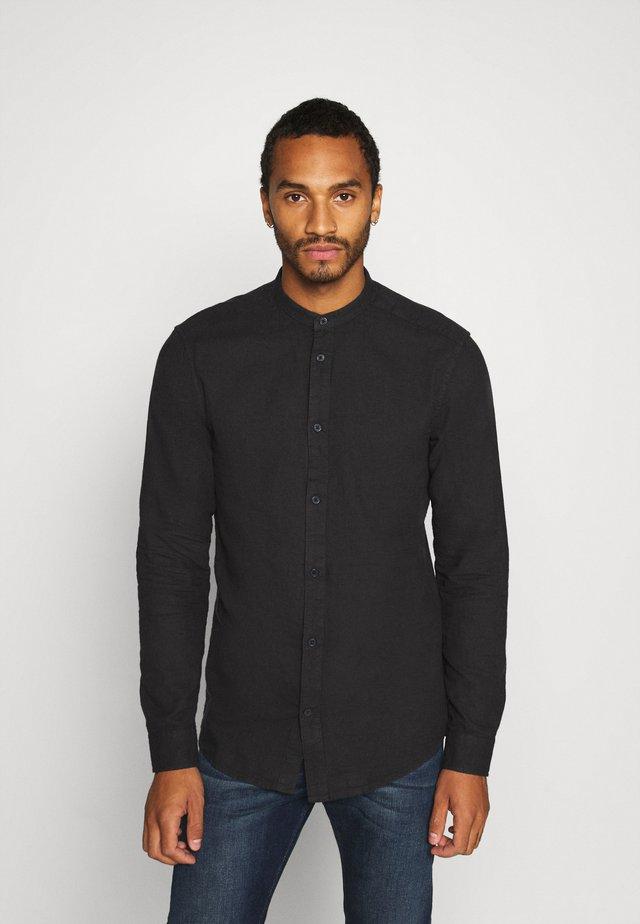 ONSBRENT DOBBY MANDARINE - Shirt - dark navy