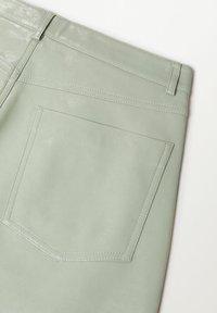Mango - WALLY - Trousers - vert - 8