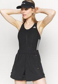 adidas Performance - LEOTARD  - Gym suit - black/white - 3