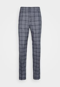 Club Monaco - SUTTON MEDIUM PLAID - Kalhoty - navy combo - 4