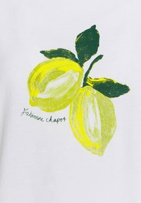 Fabienne Chapot - ROMY LIME - Print T-shirt - cream white - 5