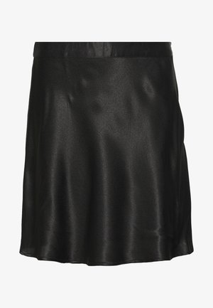 NMSALUKI SHORT SKIRT - Gonna a campana - black