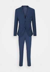 Isaac Dewhirst - CHECK SUIT - Oblek - blue - 0