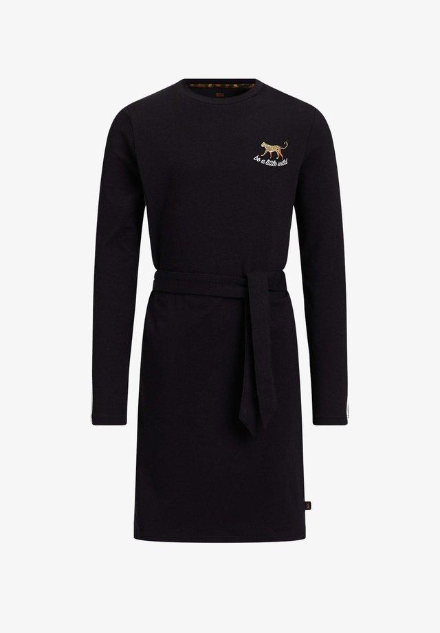 MET TAPEDETAIL - Day dress - black