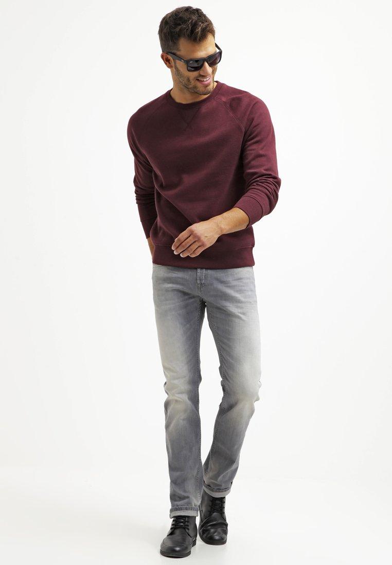 Pier One Sweatshirt - Bordeaux Melange/vinrød-melert