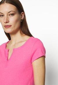 Mos Mosh - TROY TEE - Basic T-shirt - fandango pink - 3