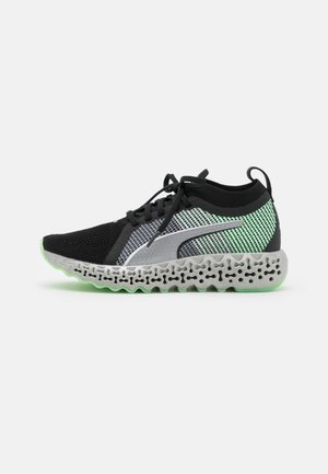 CALIBRATE RUNNERN  - Neutral running shoes - black/electro green