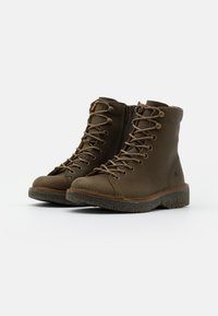 El Naturalista - VOLCANO - Lace-up ankle boots - olive - 2
