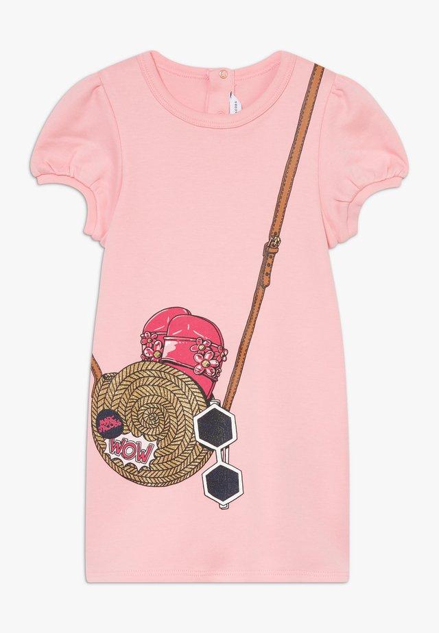 DRESS BABY - Jersey dress - rasberry