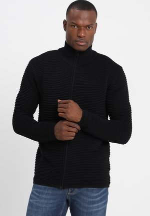 Struan Zip - Cardigan - black