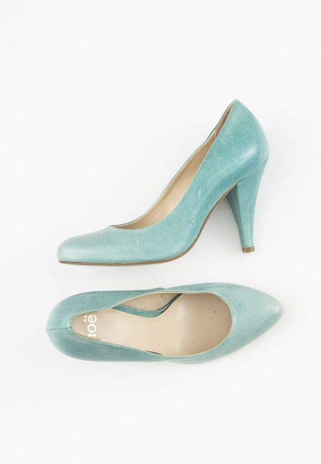 Hoge hakken - blue