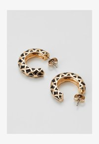 PCCLARY EARRINGS 3 PACK - Náušnice - gold-coloured