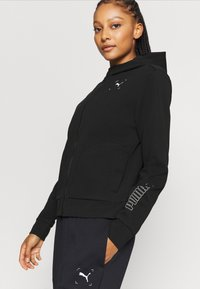 Puma - NU TILITY - Zip-up hoodie - black - 5