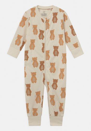 BEAR AT BACK UNISEX - Pyjamas - light beige