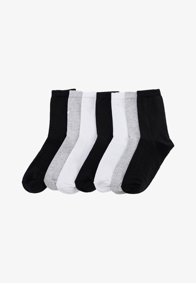 7 PACK - Calze - black
