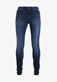 Noisy May - NMLUCY - Jeans Skinny Fit - dark blue denim - 3