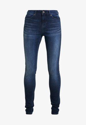 NMLUCY - Jeans Skinny Fit - dark blue denim