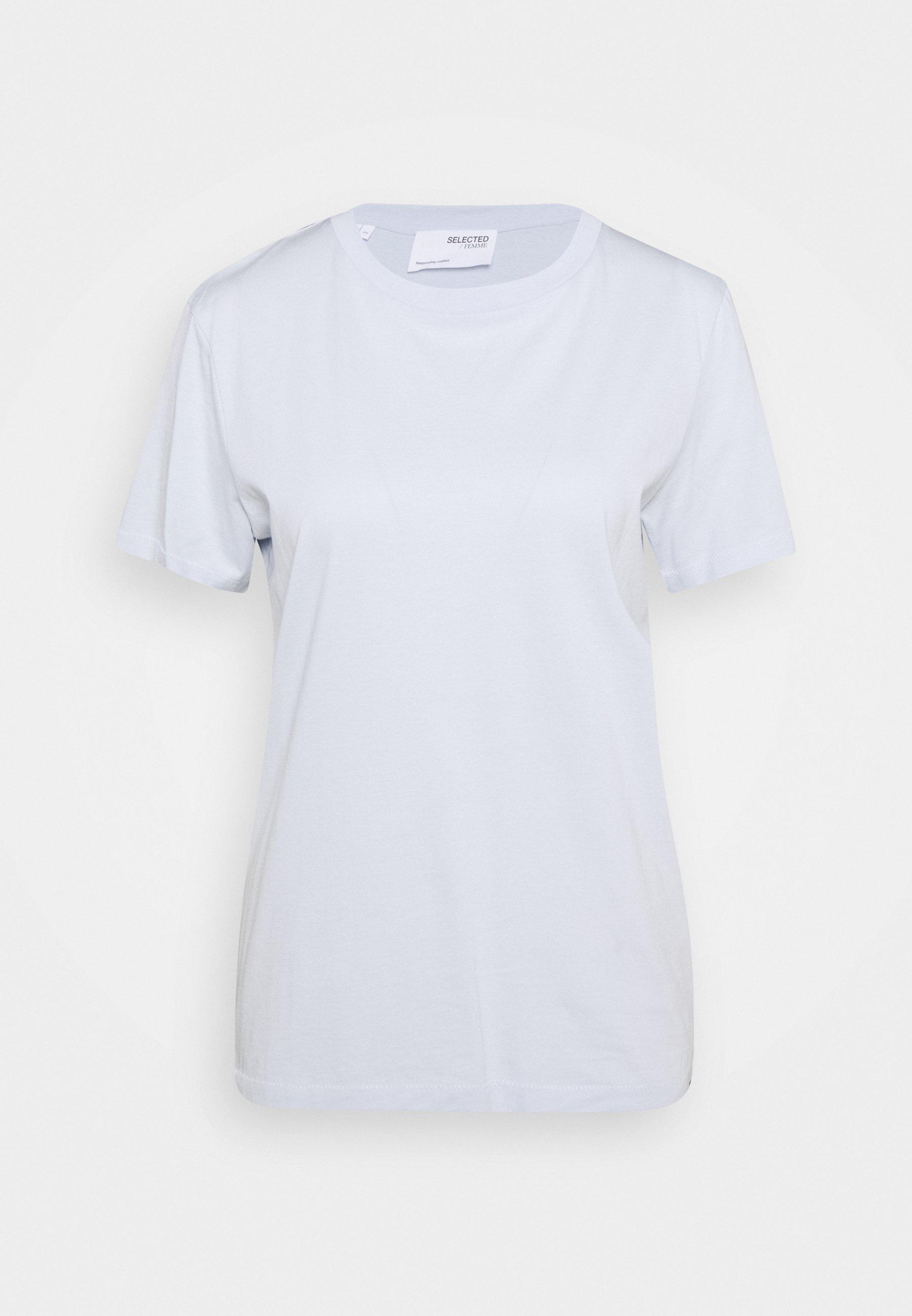 Women SLFMY PERFECT SS TEE BOX CUT COLOR B - Basic T-shirt