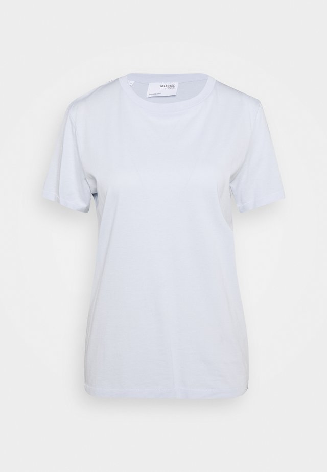 SLFMY PERFECT SS TEE BOX CUT COLOR B - T-shirts basic - arctic ice