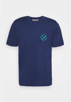 TECH LITE II TEE NONETWORK - T-shirt print - royal navy