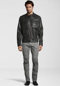 Capitano - NEBRASKA  - Leather jacket - anthracite - 1