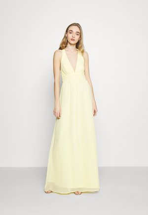 LOVEABLE CROSS BACK GOWN - Occasion wear - light yellow