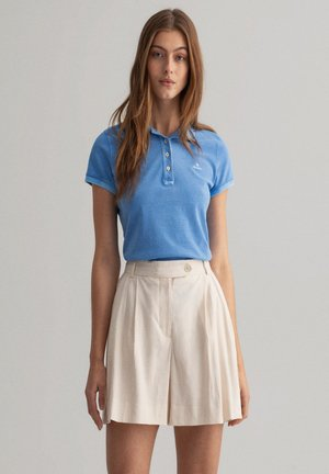 Polo shirt - pacific blue