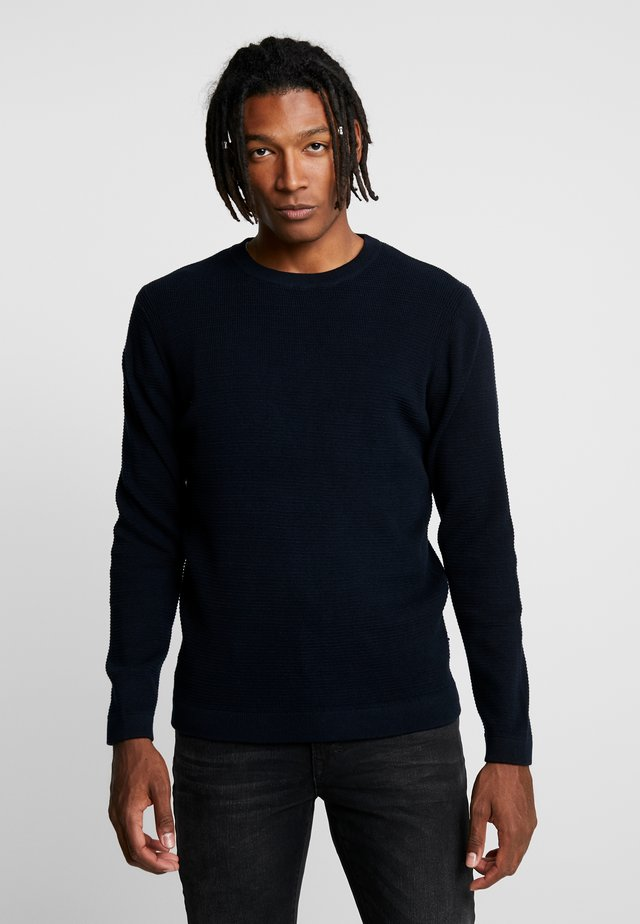 JULIAN - Neule - navy blue