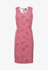 Jack Wolfskin - TIOGA ROAD PRINT DRESS - Sports dress - rose quartz - 5