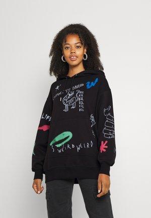 F-EXA-HOOD-B2 - Sweatshirt - black