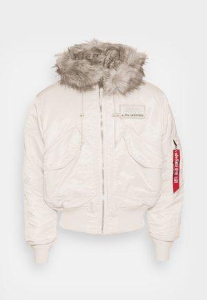 HOODED CUSTOM - Zimní bunda - jet stram white