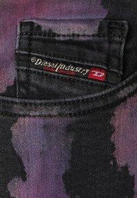 Diesel - SLANDY - Jeans Skinny Fit - black / multicolor - 2