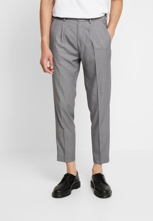 TROUSER - Tygbyxor - mid grey