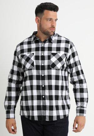 CHECKED - Skjorta - black/white
