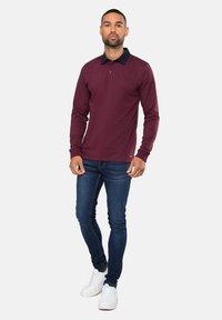 Threadbare - STRUAN - Polo shirt - burgundy - 1