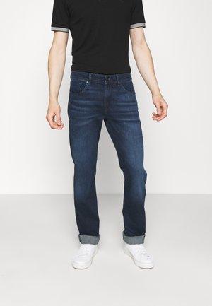 SLIMMY LUXE PERFORMANCE - Straight leg jeans - dark blue