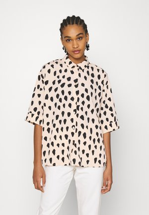 TAMRA BLOUSE - Button-down blouse - beige